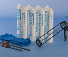 Ultra Cure damp proofing cream - in 380cc cartridge tubes