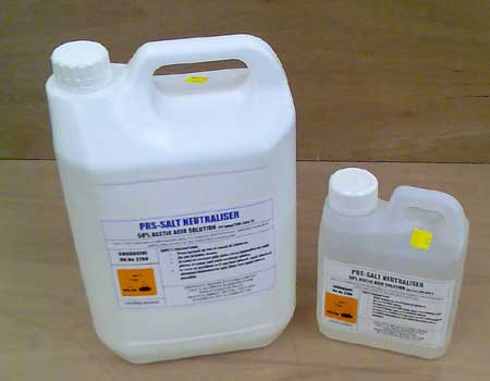Salt Neutraliser liquid - kills Salts in plaster and masonry