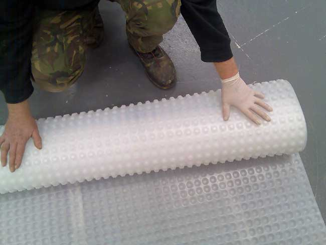 Kontract Membrane for damp  floors