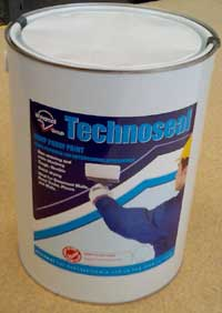 Technoseal water based rubber liquid