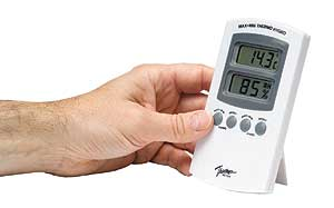 Home Humidity Meter - with Memory