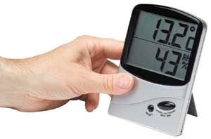 Humidity Tester - hygrometer for home use
